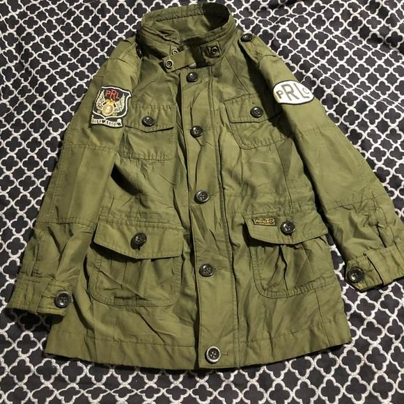 Green Jacket Ralph Polo 7 Military Lauren Boys QdhBoCtsrx